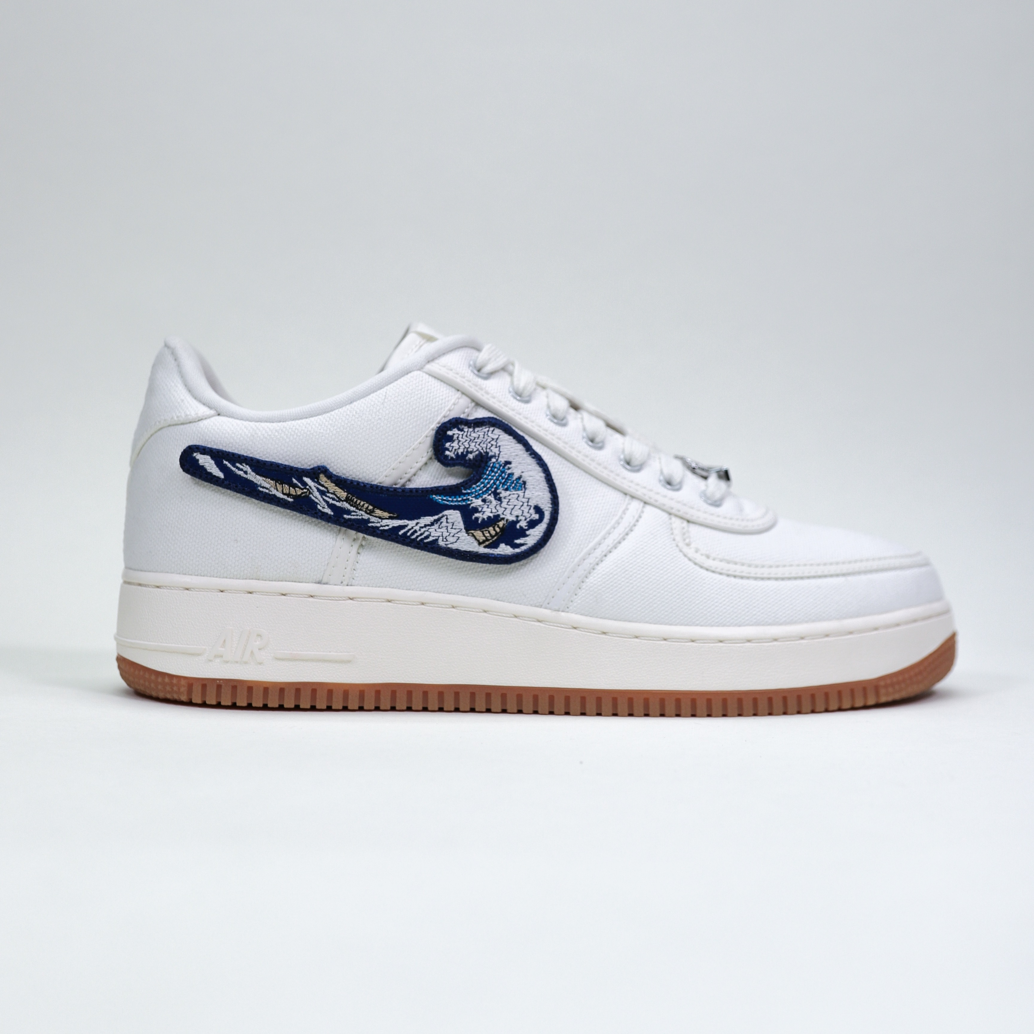 Great Wave TRAVIS SCOTT AF1 Velcro Swoosh
